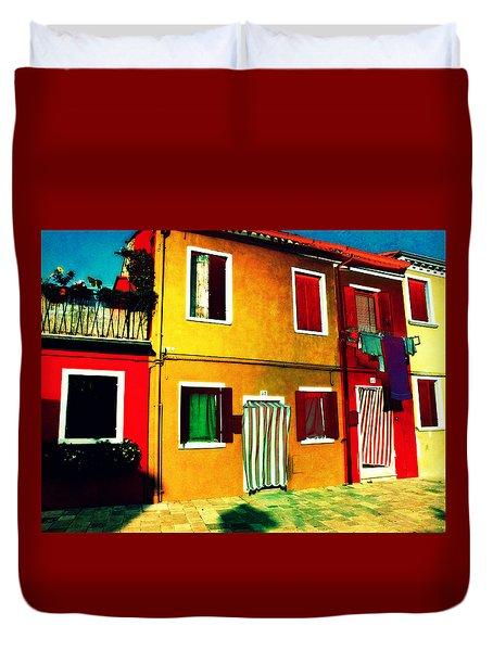 Pittoresco Villaggio Duvet Cover