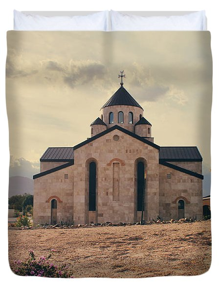 Place Of Worship Duvet Cover by Laurie Search