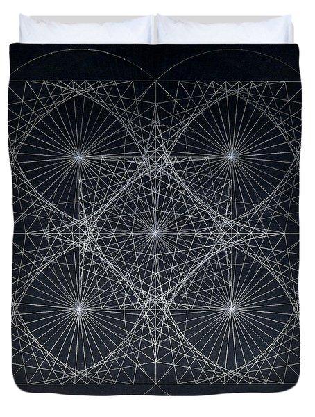 Plancks Blackhole Duvet Cover