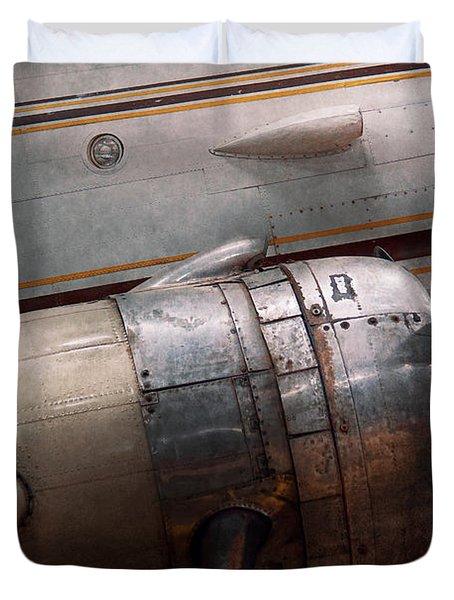 Plane - A Little Rough Around The Edges Duvet Cover