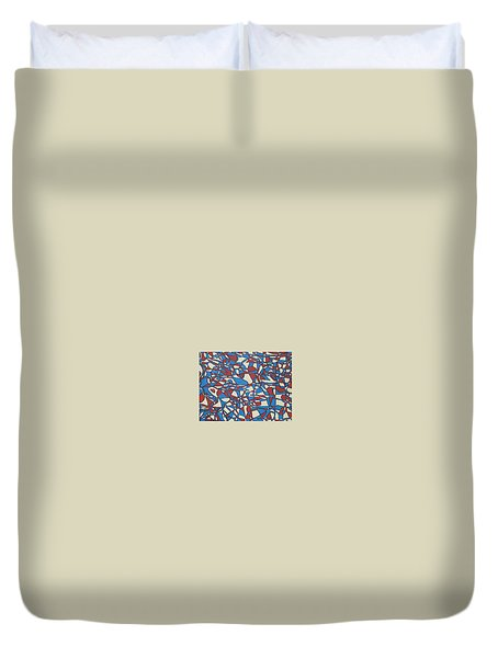 Planet Abstract Duvet Cover