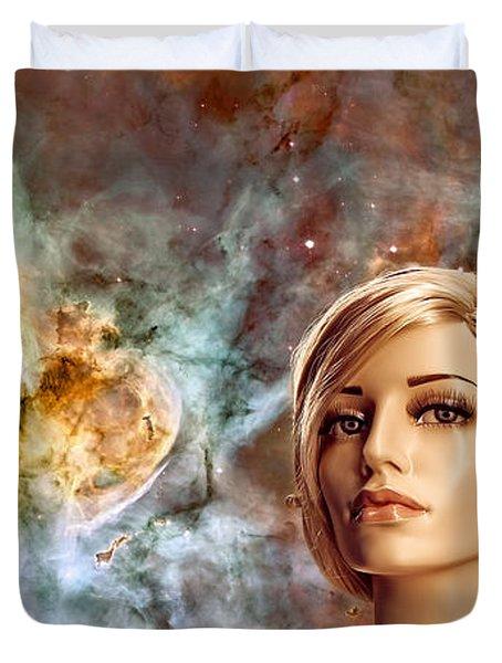 Planetarium Duvet Cover