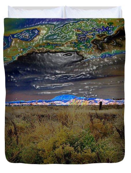 Plasma Sky Duvet Cover