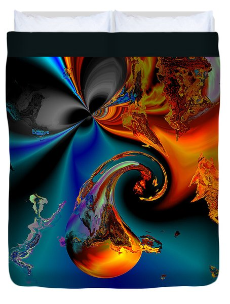Plate 291 Duvet Cover by Claude McCoy