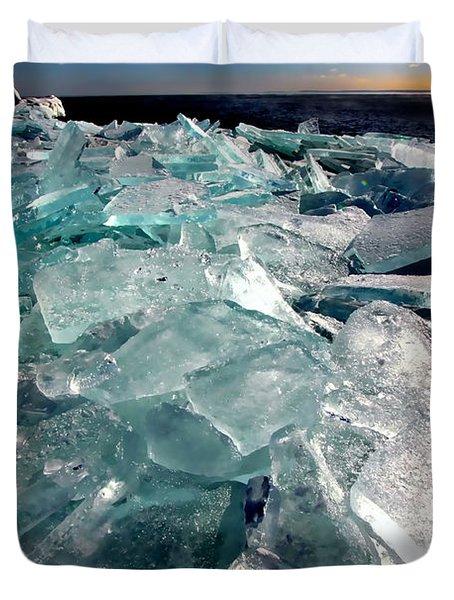 Plate Ice  Duvet Cover