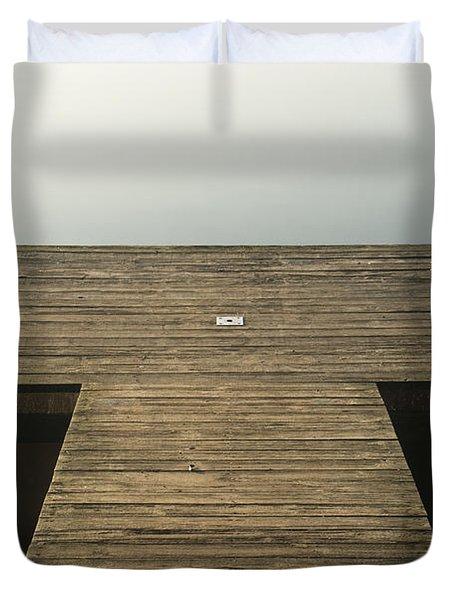 Platform 33 Duvet Cover by Anne Gilbert