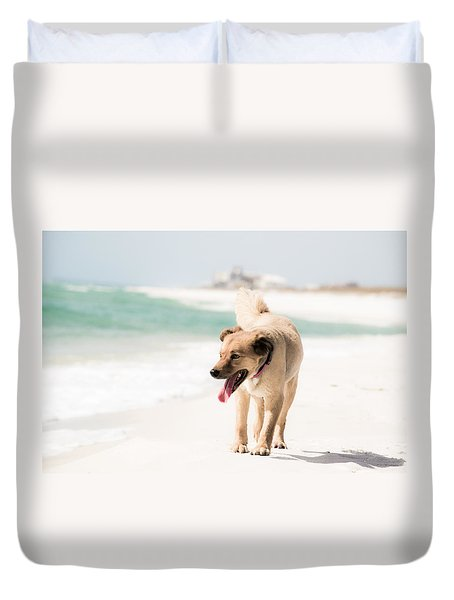 Play Buddy Duvet Cover by Shelby  Young