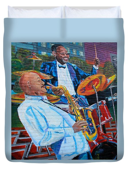 Play It Again Duvet Cover
