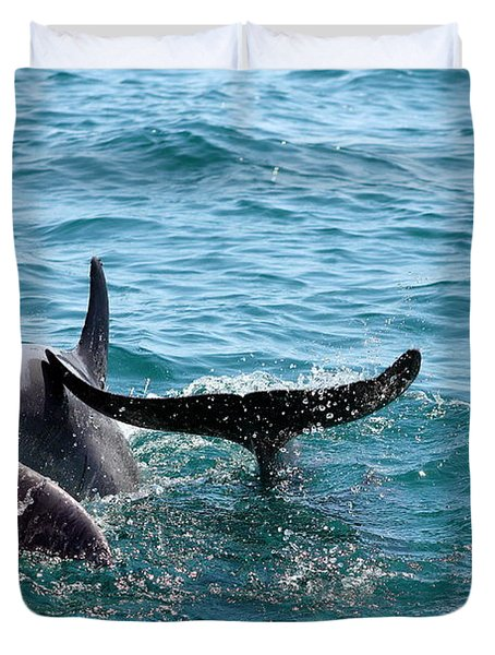 Play Time Duvet Cover by Debra Forand
