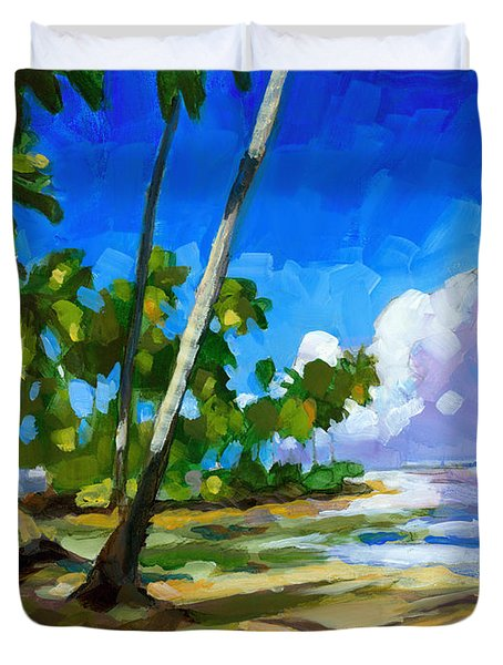 Playa Bonita Duvet Cover