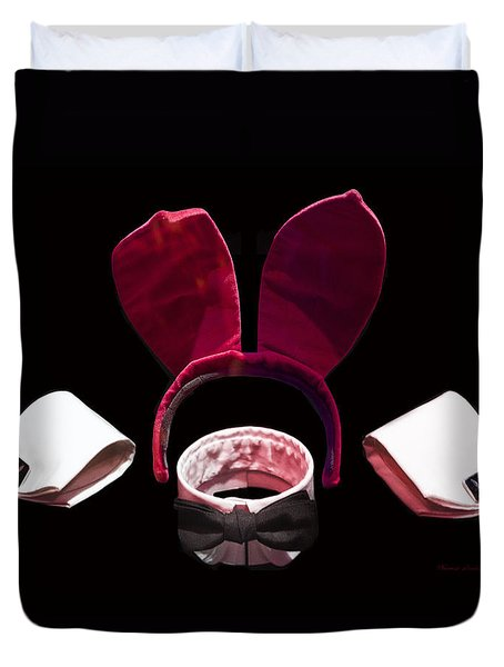 Playboy Bunny Costume Accessories Duvet Cover