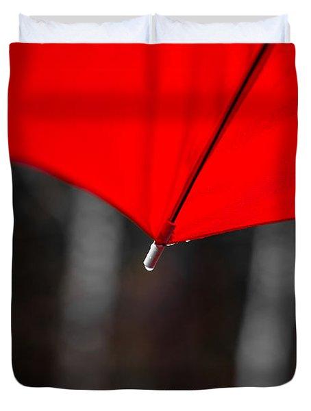 Please Share My Umbrella Duvet Cover