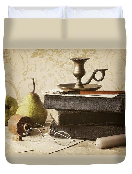 Poet's Corner Duvet Cover