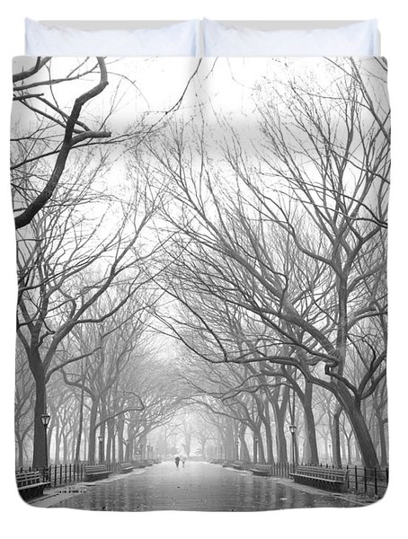 New York City - Poets Walk Central Park Duvet Cover