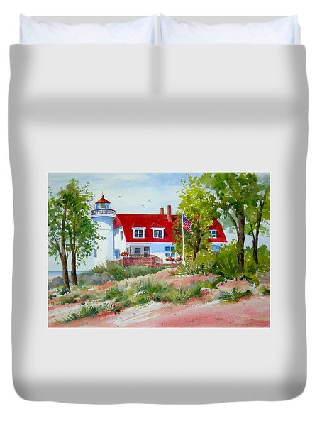 Point Betsie Duvet Cover