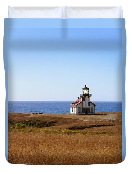 Point Cabrillo Light House Duvet Cover