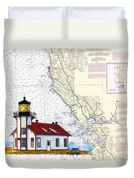 Point Cabrillo Light Station Duvet Cover
