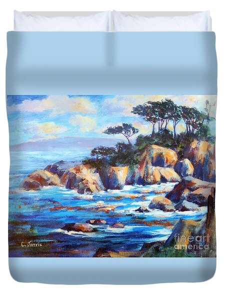 Point Lobos Duvet Cover