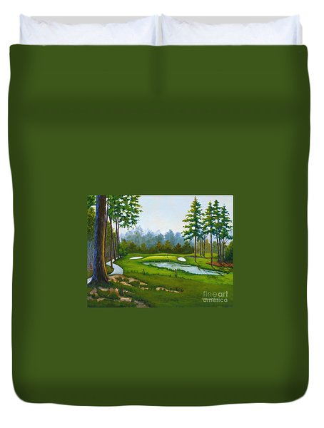 Point South #5 Duvet Cover