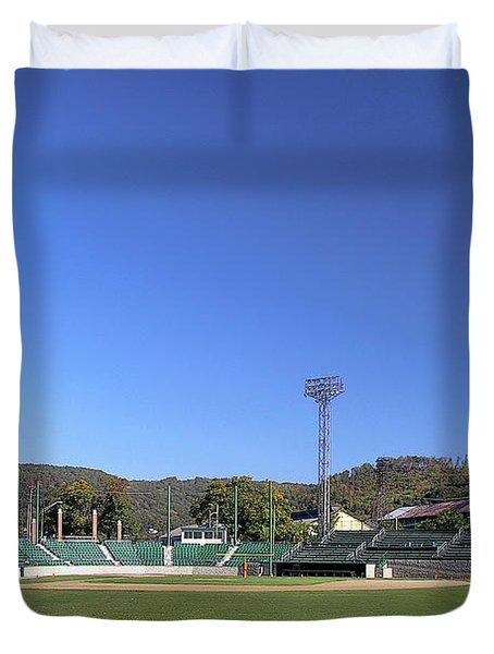Point Stadium - Johnstown Duvet Cover
