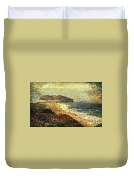 Point Sur Lighthouse Duvet Cover