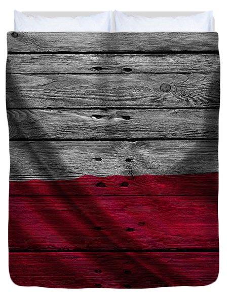 Poland Duvet Cover
