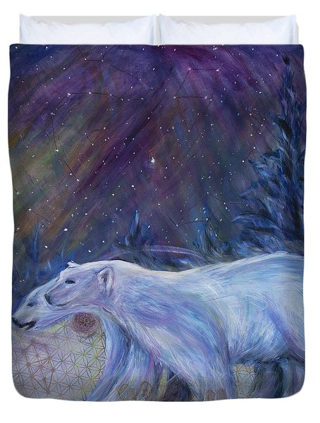Polaris Duvet Cover by Angie Bray-Widner