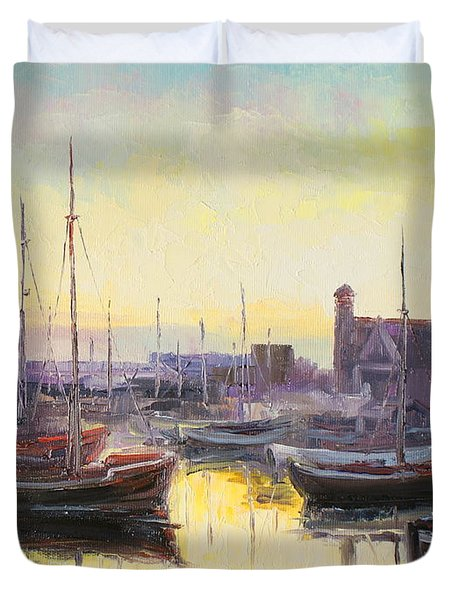 Polish City Hel Duvet Cover