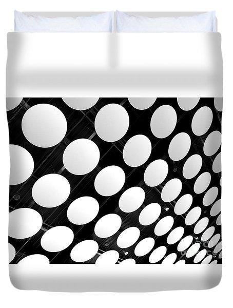 Polka Dots Duvet Cover by Ann Horn