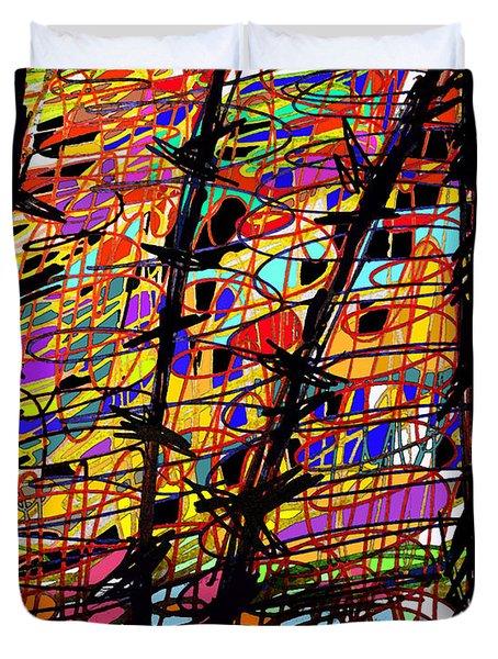 Pollock Updated Duvet Cover