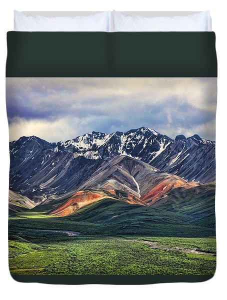 Polychrome Duvet Cover
