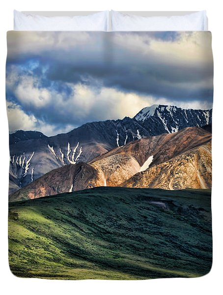 Polychrome Pass Duvet Cover by Heather Applegate