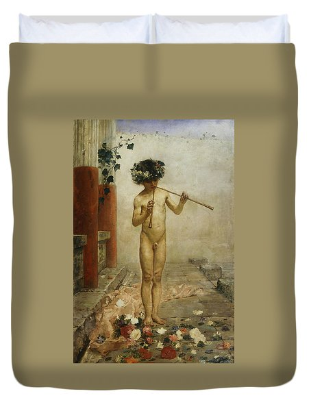 Pompeian Child Duvet Cover