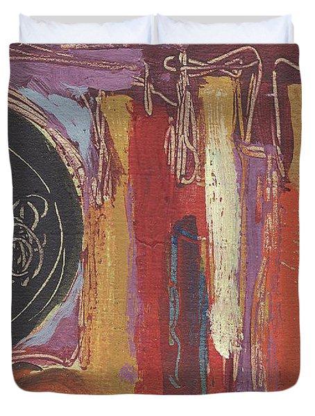 Pompeii Postcard Duvet Cover