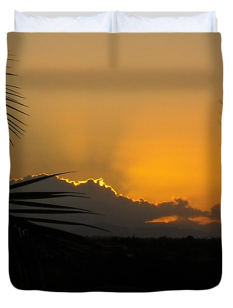 Ponce Sunrise Duvet Cover