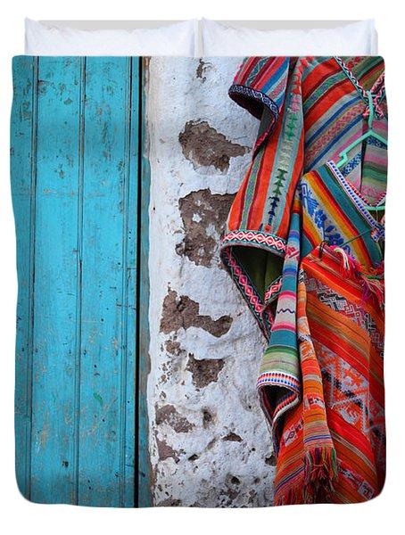 Ponchos For Sale Duvet Cover