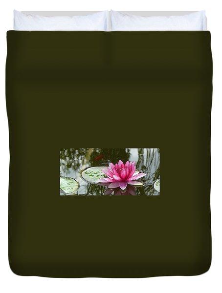 Pond Magic Duvet Cover