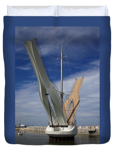 Pont Y Ddraig Bridge.  Duvet Cover