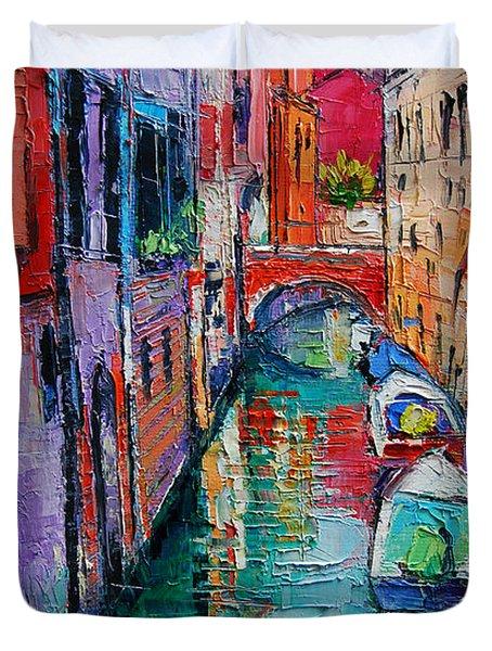 Ponte Raspi O Sansoni - Venice - Italy Duvet Cover