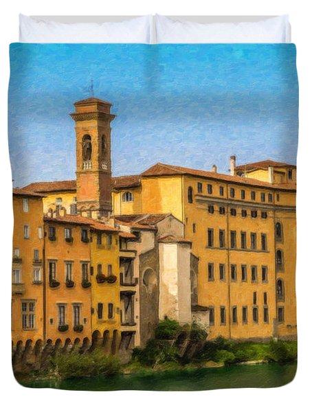 Ponte Vecchio Itl3304 Duvet Cover