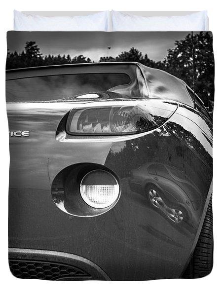 Pontiac Solstice Rear View Duvet Cover