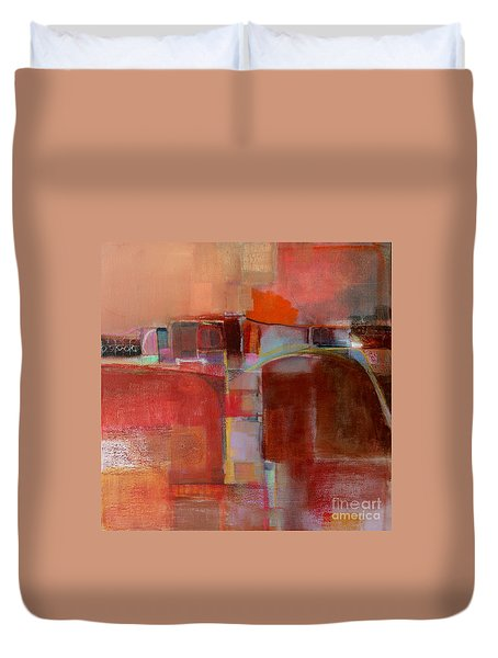 Pont Des Arts Duvet Cover