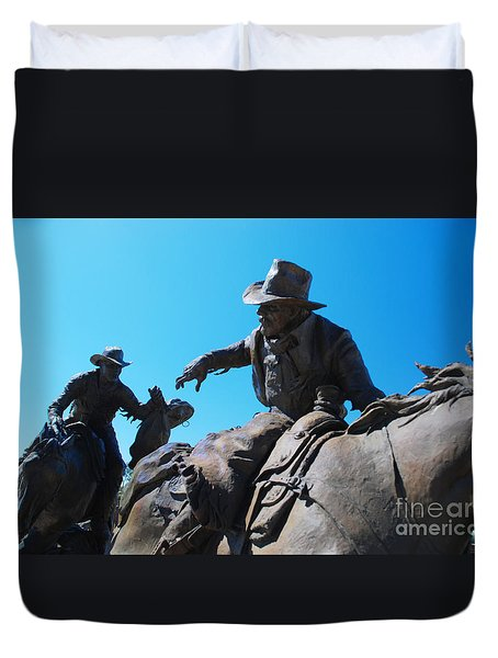 Pony Express Duvet Cover