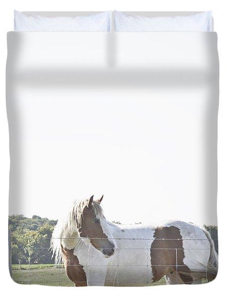 Pony Pride Duvet Cover