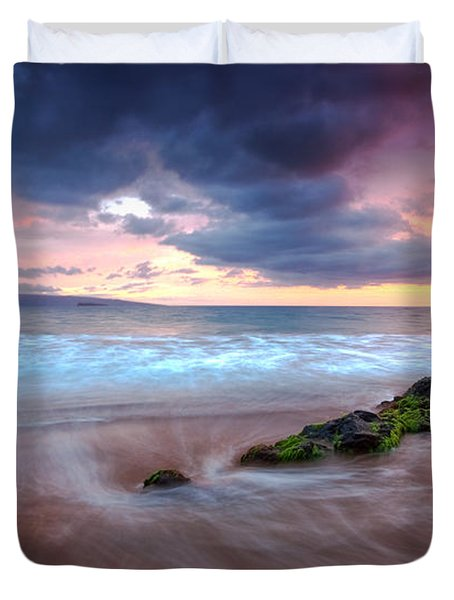 Poolenalena Pastels Duvet Cover by James Roemmling