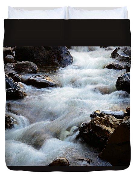 Popo Agie Flow Duvet Cover