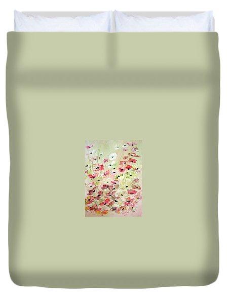 Poppies Knife 2 Duvet Cover
