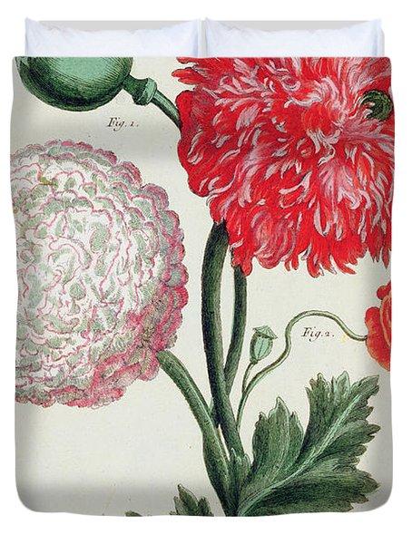 Poppy Duvet Cover by Basilius Besler