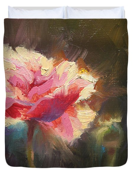 Poppy Glow Duvet Cover