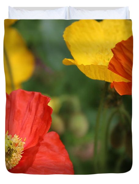 Poppy Iv Duvet Cover